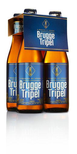 Afbeeldingen van BRUGGE TRIPEL 4X33CL